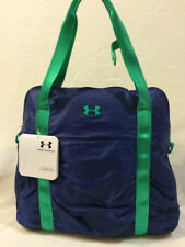 UNDER ARMOUR WOMENS UA GOTTA HAVE IT TOTE /GYM BAG / HAND BAG, BLUE / TEAL,NWT