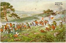 BATTLE OF MOUNT ISEL 1809 Austria Bavaria Colour PC 1906 London Exhibition