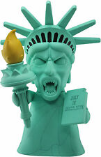 "DOCTOR WHO - TITANS VINYL FIGURE - 8"" WEEPING ANGEL STATUE OF LIBERTY - NEW"