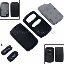 2 Buttons Remote Key Shell Cover Case Fob for Mitsubishi Lancer Galant Endeavor