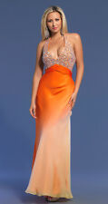 Dave & Johnny style 7665 Orange size 4-Prom-Home Coming-Military Ball