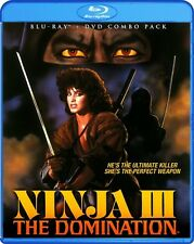 Ninja III: The Domination [2 Discs] [DVD/Blu-ray] (2013, REGION A Blu-ray New)