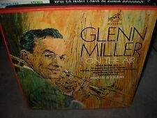 GLENN MILLER on the air ( jazz ) rca mono - 3 lp box set -