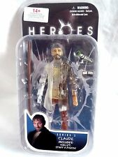 "HEROES SERIES 2 CLAUDE VARIANT  7"" FIGURE BY MEZCO TOYS"