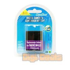 Camera Battery For Panasonic Lumix DMC-G1A G2A G2R G10K G1K G1R GF1C-K GH1K