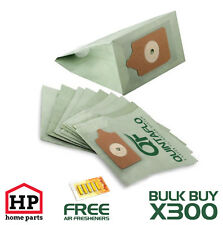 300 X Numatic-Henry,Hetty,James-Quintaflo Vaccum Cleaner Hoover Bags+Fresheners