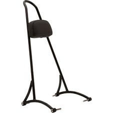 "Burly Brand 20"" Tall Version Black Sissy Bar w/ Pad for Harley Sportster 04-16"