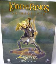 Lord of the Rings Legolas & Gimli set of 2 Animaquette Statues Orlando Bloom .