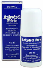 Anhydrol Forte Roll-On Antiperspirant Excessive Sweating (Driclor Equv.) - 60ml
