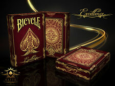 Bicycle Excellence Limited Edition Playing Cards Brand New Deck Sealed