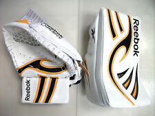 SPECIAL New ice hockey goalie blocker catcher intermediate Reebok glove set reg