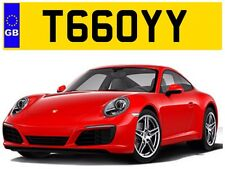 T66 OYY TROY TROYS TOY TOYA TOYAH TOYOTA TERRY PRIVATE NUMBER PLATE AUDI SUBARU