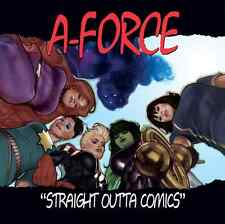 A-FORCE 1 VOL 2 RARE ADAM HUGHES NWA STR OUTTA COMPTON HIP HOP VARIANT PRE-SALE