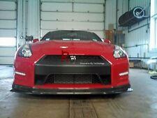 CARBON FIBER HKS KANSAI STYLE FRONT LIP SPLITTER FOR 2012- NISSAN R35 GTR GT-R