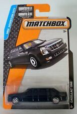 MATCHBOX 2015 MBX ADVENTURE CITY CADILLAC ONE 5/120 PRESIDENTIAL LIMOUSINE BLACK