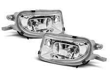 2X ANTIBROUILLARDS MERCEDES W210/CLK/SLK CHROME