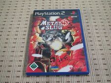 METAL SLUG 5 per PlayStation 2 ps2 PS 2 * OVP *