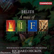 Delius: A Mass Of Life, Requiem / Hickox, Bournemouth So - CD