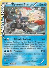 KYUREM BIANCO 21/124 ☻ Rara Holo Foil ☻ Destini Incrociati FTC ITA ☻ POKEMON