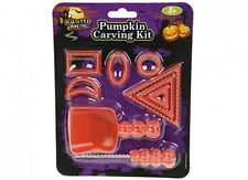 Halloween Zucca Intaglio Kit Tools Set spaventose decorazione Prop Craft CUTTER