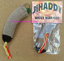 Knitted Willy Warmer ~ Jihaddy Knitted Willy Warmer ~ Adult Rude Novelty Gift