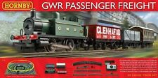 Hornby NEW GWR Passenger Freight train set + free Woodlands Scenics DVD