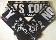NOTTS COUNTY Football Scarves NEW from Superior Acrylic Yarns