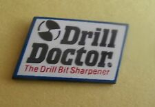 Drill Doctor The Drill Bit Sharpener Advertising Lapel Pin