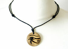 Egyptian Eye of Horus Necklace Gift Ancient Egypt Jewellery Pendant Illuminati