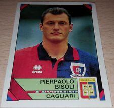 FIGURINA CALCIATORI PANINI 1993/94 CAGLIARI BISOLI ALBUM 1994