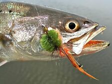 Fly Fishing Flies (Bonefish Permit Redfish Bass Trout) Mangrove Critter Weedless