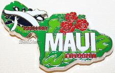 MAUI HAWAII ISLAND WAILUKU Whale Refrigerator Fridge Magnet Metal & Enamel NEW