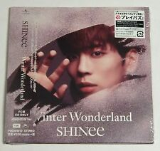 SHINee winter wonderland JONGHYUN ver. FC limited CD Japan
