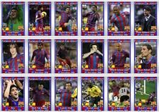 FC Barcelona European Champions League winners 2006 football trading cards