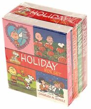 Peanuts Holiday Box Set Charlie Brown Thanksgiving Christmas Halloween Valentine