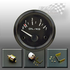 "OIL PRESSURE GAUGE DIAL 0-7 kg/cm FACE 52mm / 2"" WITH SENDER"