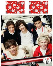 One Direction Sweetheart DOUBLE Panel Duvet Cover Bed Set Official 1D New Gift
