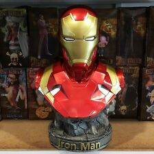 CUSTOM 1/2 SCALE CAPTAIN AMERICA CIVIL WAR IRON MAN MARK 46 RESIN BUST STATUE