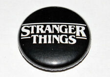 STRANGER THINGS 25MM / 1 INCH BUTTON BADGE NETFLIX SCI-FI 80s