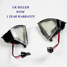 Vw Golf Mk5 R32 En Espejo Puddle Luz Led Blanco-libre de errores, Canbus
