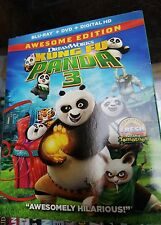 Kung Fu Panda 3 - Blu Ray + DVD + Digital HD 2016 Brand NEW with card sleeve