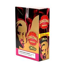 ZIG ZAG CIGAR WRAPS 2 PER PACK. BOX OF 50 WRAPS MELON FLAVOR
