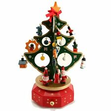 Gisela Graham Christmas Tree Music Box - Stunning Musical Christmas Decoration
