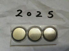3V CR2025 Battery Button Coin Cell Lithium Batteries for Watch Calculator US x3