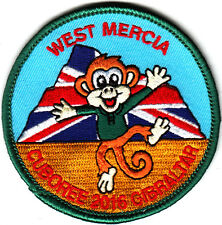 Boy Scout Badge 2016 CUBS 100 West Mercia in GIBRALTAR