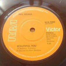 Neil Sedaka Beautiful You / Anywhere You're Gonna Be (RCA 2269) 1st UK Press