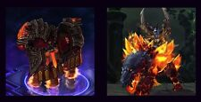 WOW Primal Flamesaber Mount &  HOTS Flames of Judgement Charger ​​ For Azeroth!