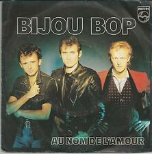 BIJOU Bijou bop SINGLE PHILIPS 1981
