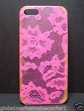 Victoria's Secret hot Pink floral flower  iPhone 5/5S  Models Cover NEW in box
