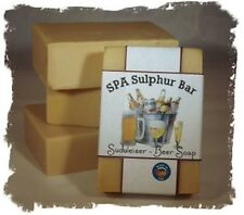 Beer _Sudweiser_ SPA Sulphur Mineral Soap Made in Montana Handmade Homemade